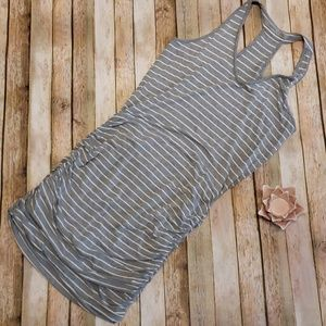 Athleta side ruche dress